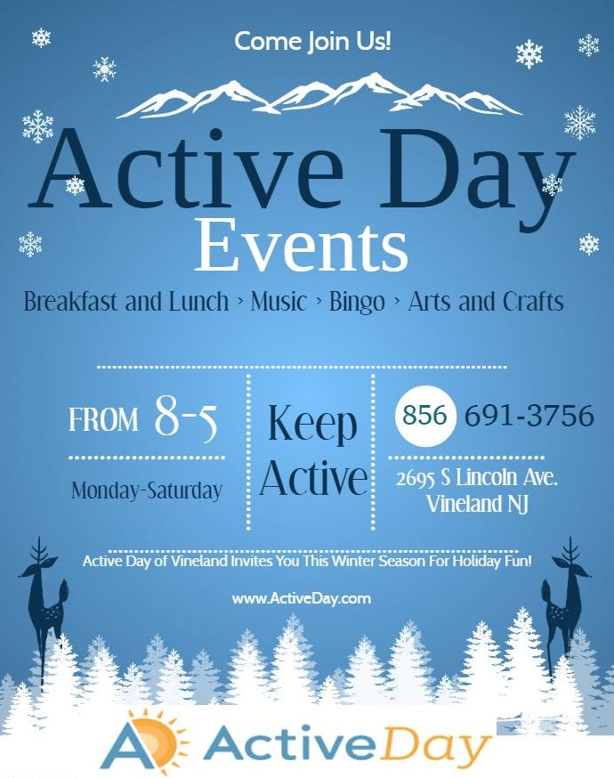 Active day winter events