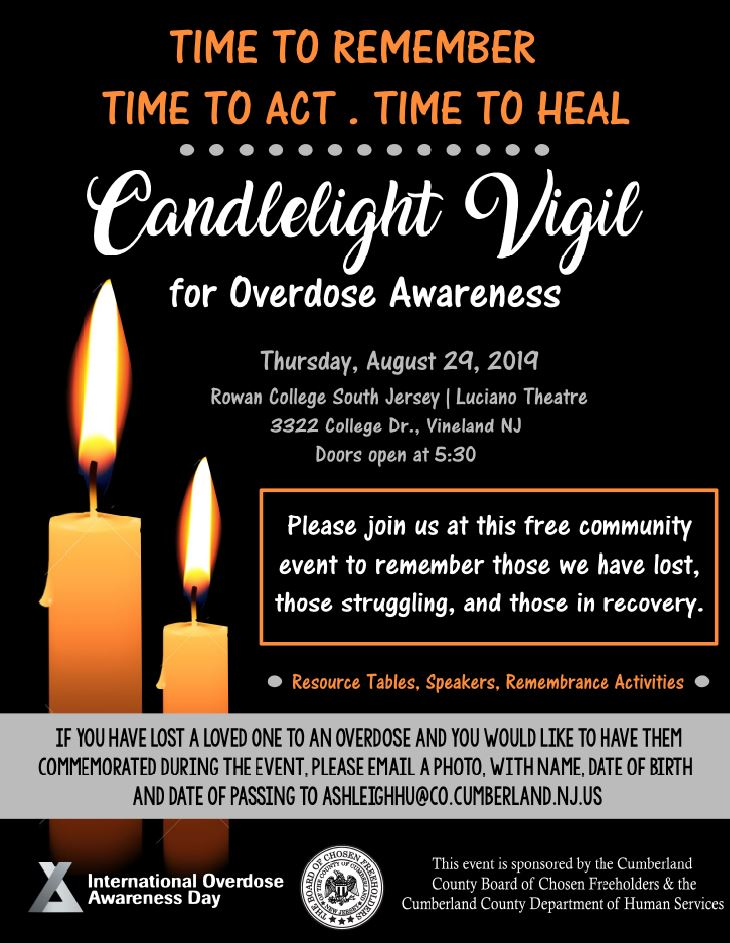 CC Candlelight vigil