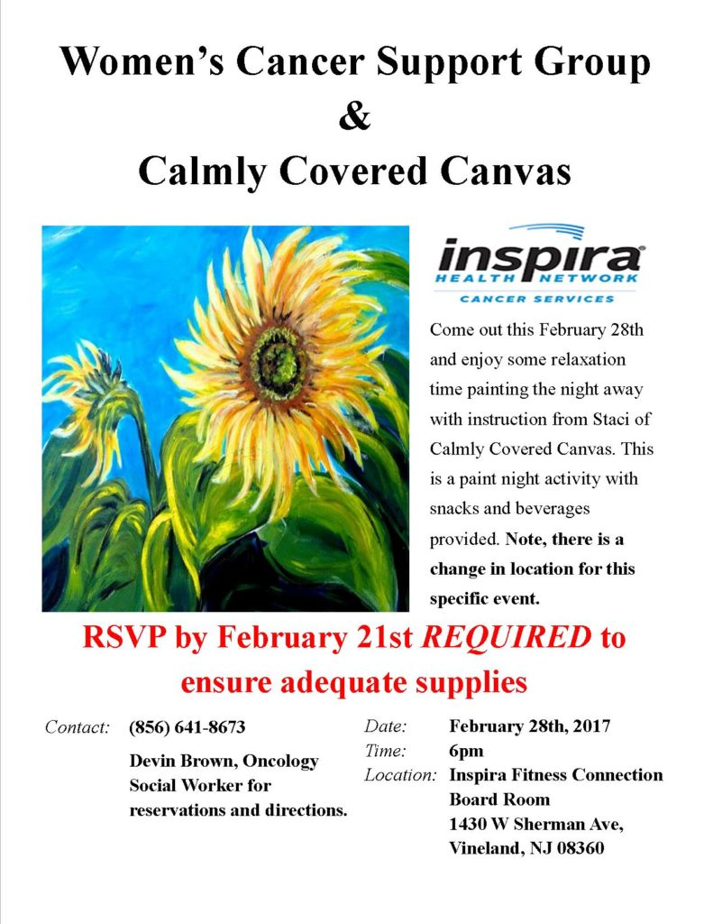 Calmly Covered Canvas
