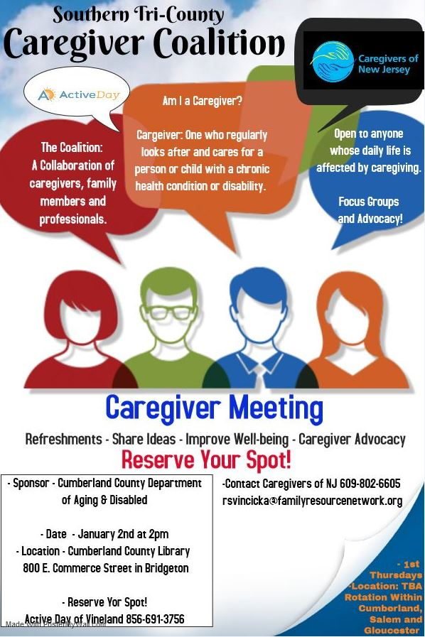 Caregiver coalition Jan