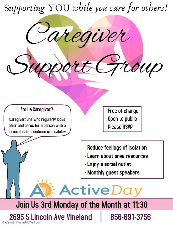Caregiver support group vineland