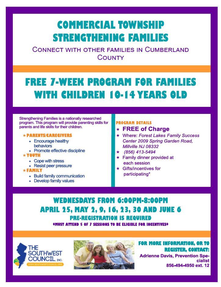 Forest Lakes Family Success Center April 2018
