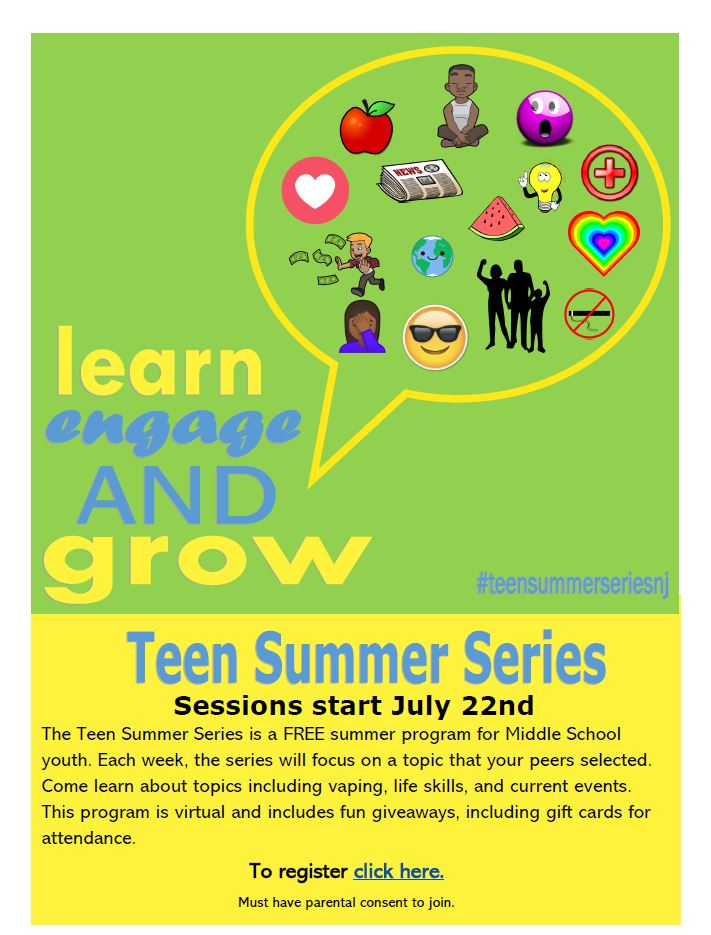 Teen summer series