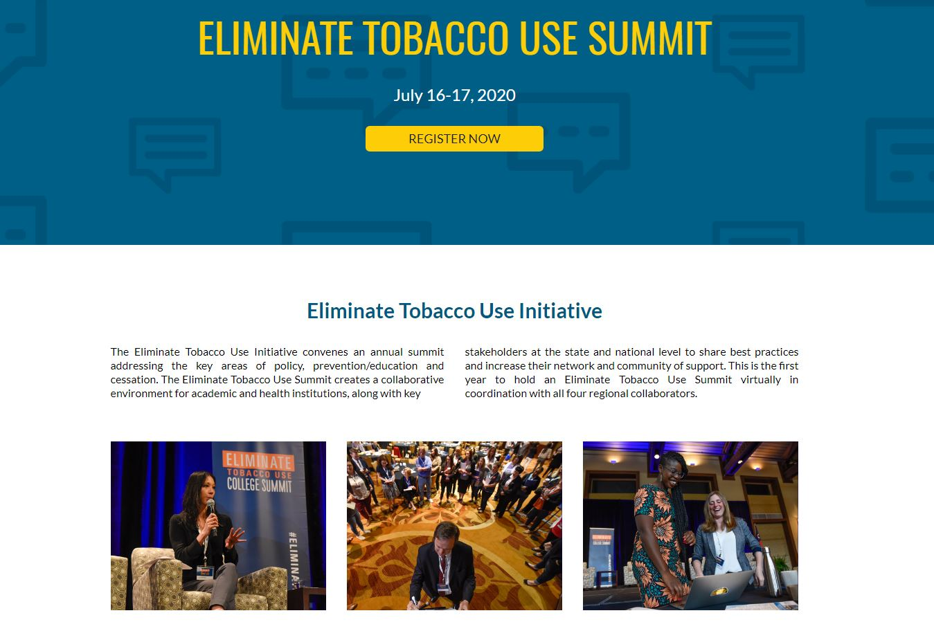 Tobacco summit