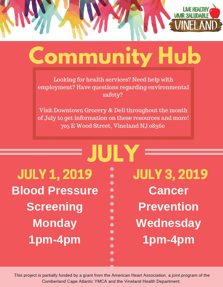 Vineland Community Hub Eng.