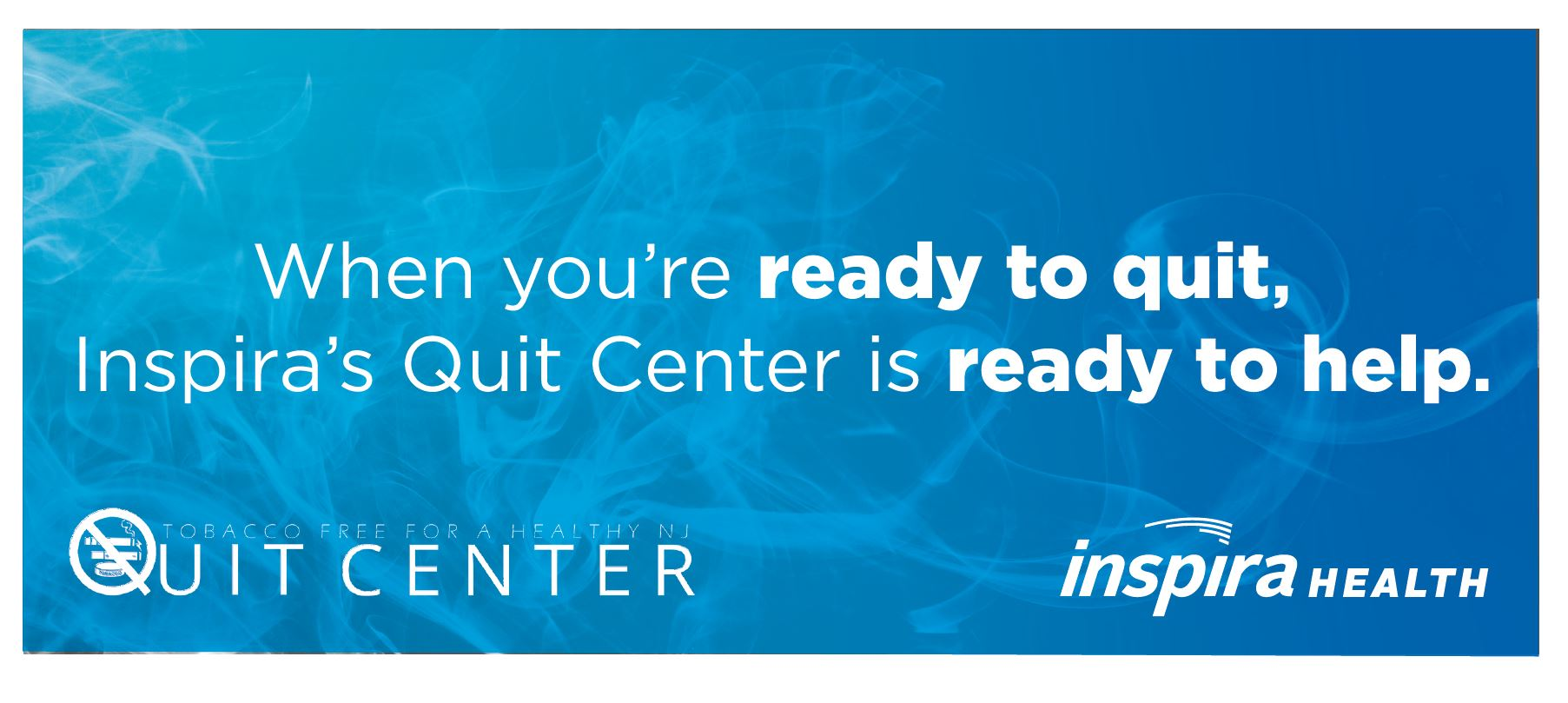 Quit Center website slide